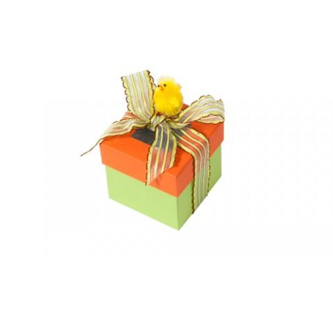 Pack de 12 boîtes C² Visio 225g - collection Pâques - format 82x82x82/28