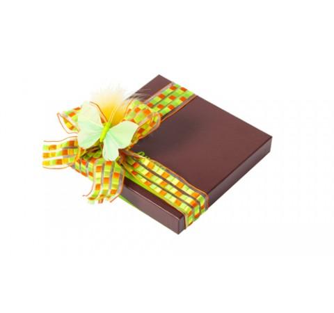 Pack de 12 boîtes Choco 350g - collection Pâques - format 165x165x30/25
