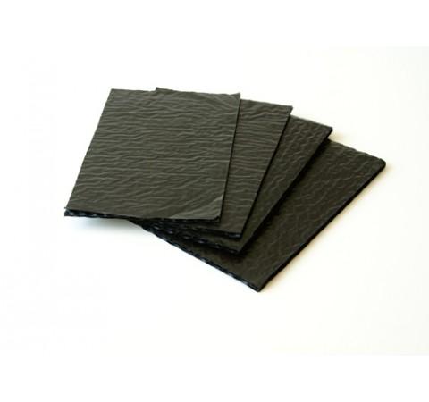 Pack de 12 coussinets bruns 3 feuilles  format 165x165