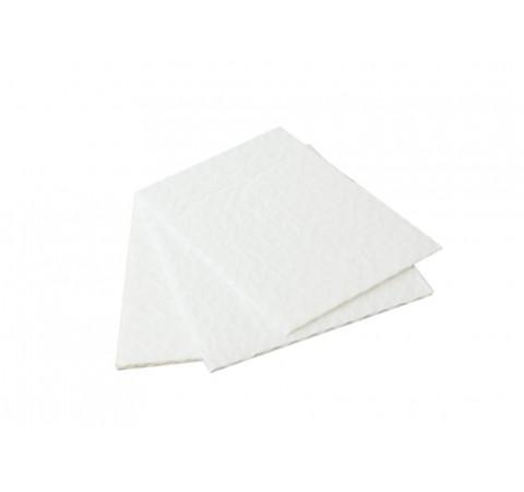 Pack de 12 coussinets blancs 3 feuilles format 128x68