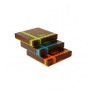Pack de 12 boîtes Choco 350g - format 165x165x30/25