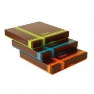 Pack de 12 boîtes Choco 500g - format 200x200x30/25