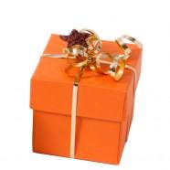 Pack de 12 boîtes C² Orange- Noël - 50g - format 50x50x50/19